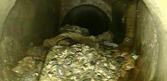 Sewer CCTV drain