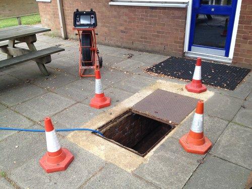 drain pipe feed