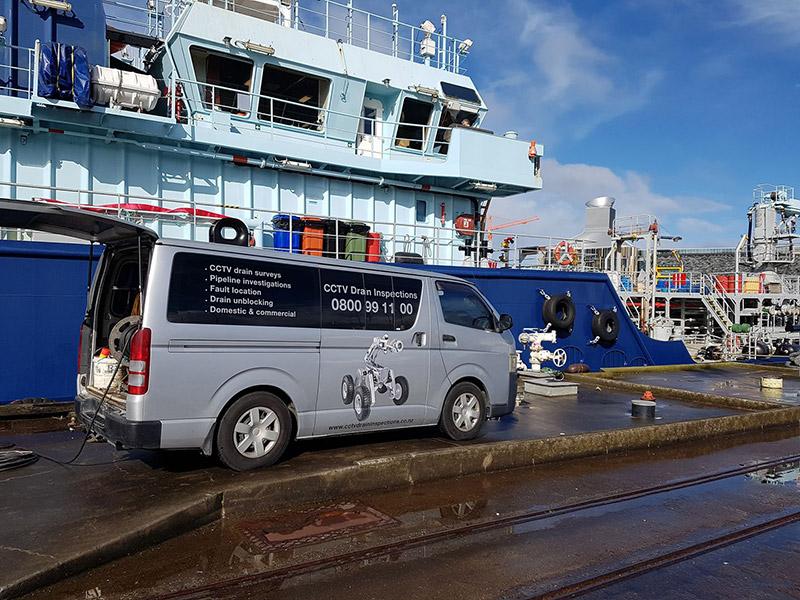 CCTV Van Drain Inspections