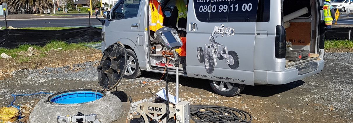 CCTV Drain Surveys Auckland Central